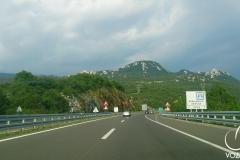 Autocesta - pvratak
